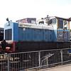 Ruston & Hornsby 4wDM 463153 'Hilsea' Bucks Railway Centre 29/06/09.
