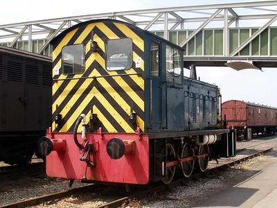 0-6-0DM Class 04 D2298     29/06/09