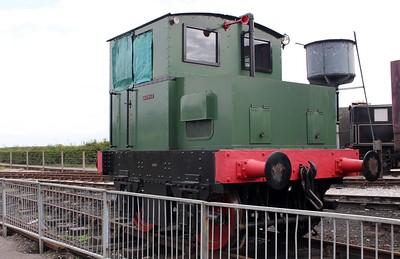 F.C.Hibberd & Co 4wDM 3765 'Tarmac' Bucks Railway Centre  14/08/11