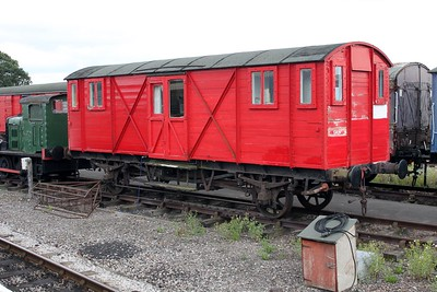 GWR Vent Planked Fish Van  DW150111     14/08/11