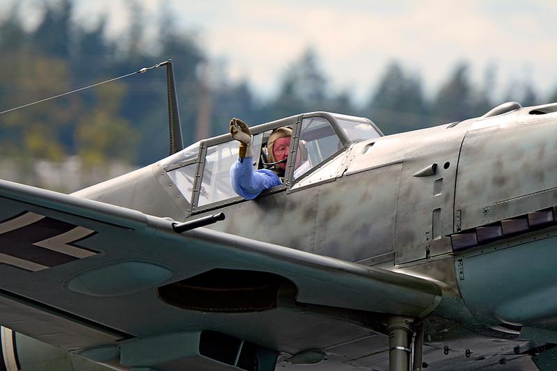 0079 Bud Granley Messerschmitt Bf 109 E-3 (Emil)