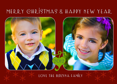 Budzyna Holiday Cards