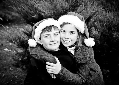 Christmas Cuties bw (1 of 1)