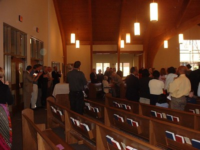 First Sunday in the New Church!