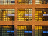 Windows with Blue Panes - NYC