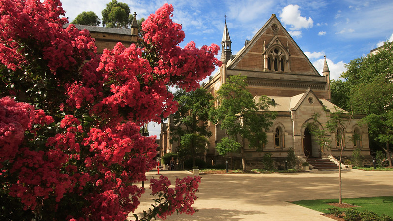 Elder Hall at The University of Adelaide