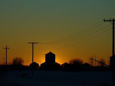 Farmer's Sun Set