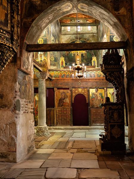 St Stephen Church (10C), Murals From 16C, Nesbar