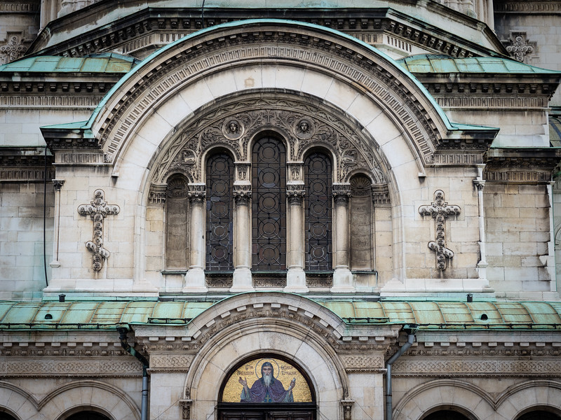 Detail Alexander Nevski Cathedral