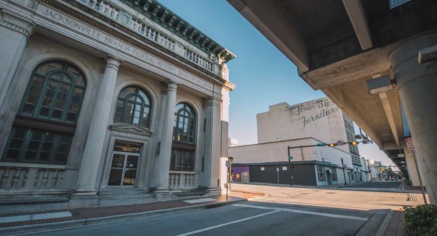Abandoned Florida: Jax's Federal Reserve Bank