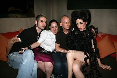 Alek android, Frances, Jeff boyes, Lady Fag