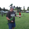 Rod mingling with the birds