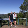 Dearne and Rod at the top of the Bunya Mountain trail