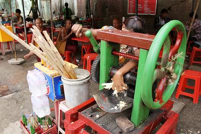 sugar cane juice.