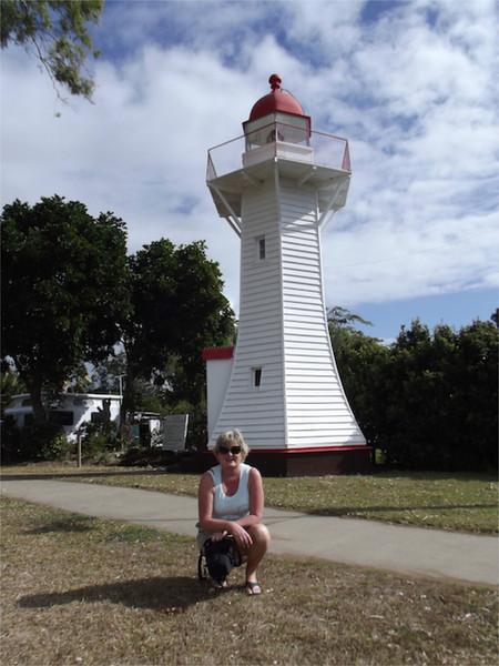 Dearne at the historic lighthouse and Burnett Heads