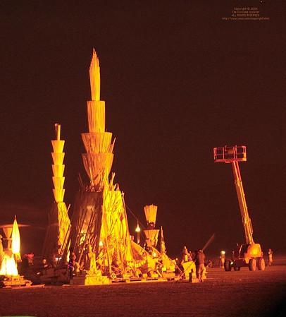 Burning Man 2006 - nights and sunsets