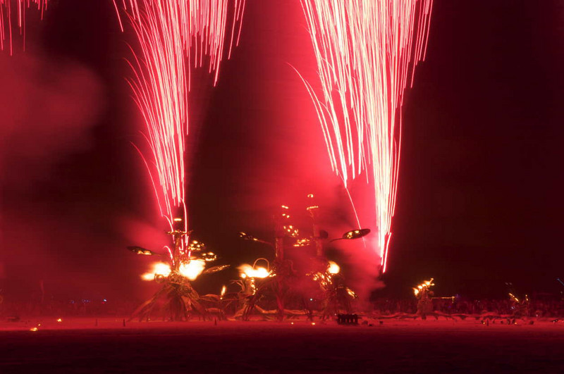 Fireworks from The Flaming Lotus Girls.