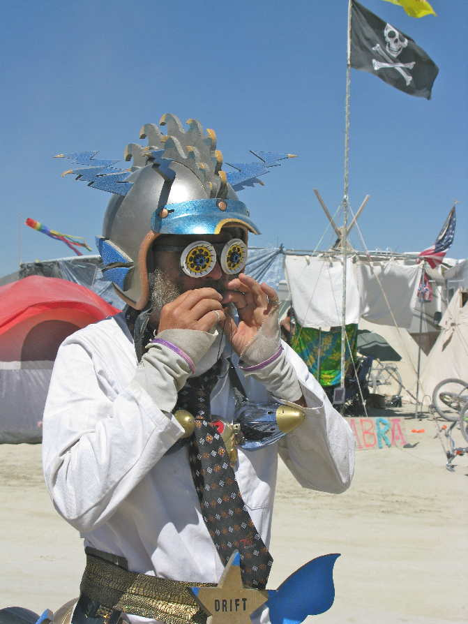 People are art at Burning Man.