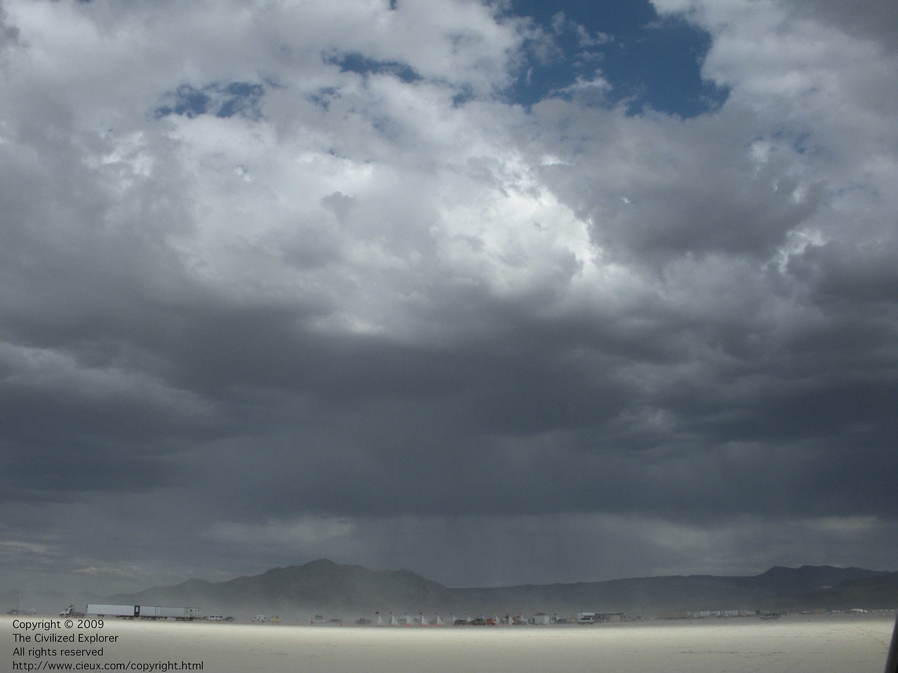 A 10-mm lens really captures the playa visually.