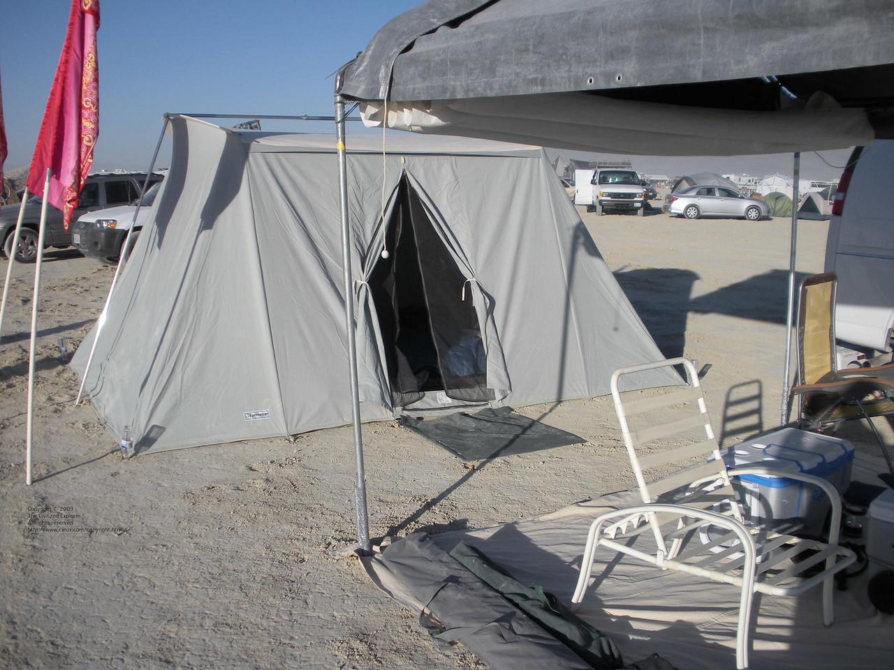 Our Springbar tent.