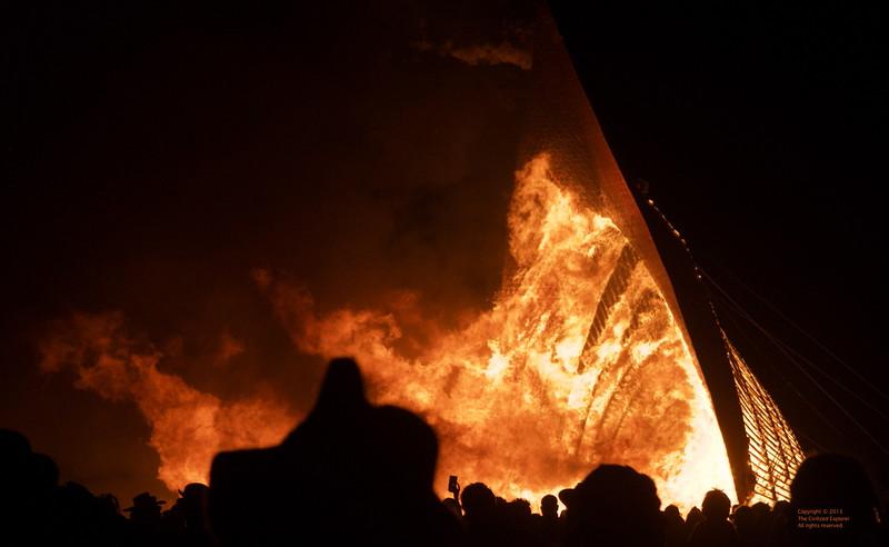 Temple burn