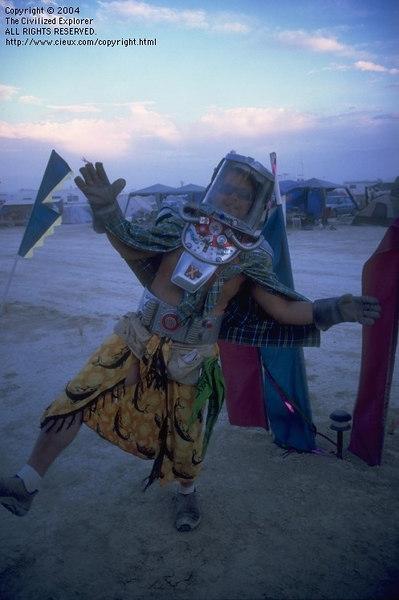 Burning Man Art 2004