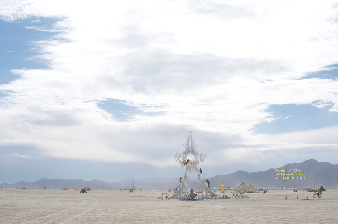 Star Seed on the playa.