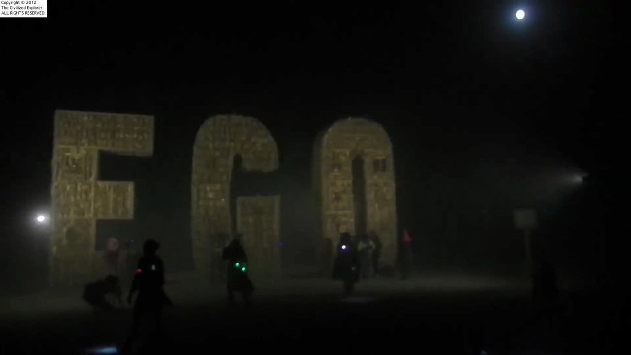 Ego again during a dust storm.