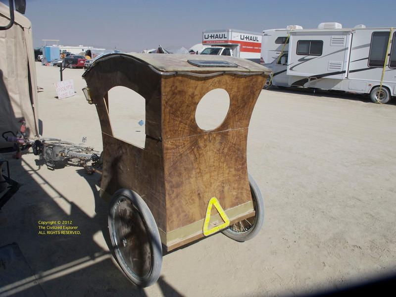 Custom rickshaw by Mr. Science.
