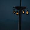 Lanterns Light Black Rock