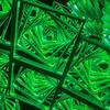 Infinity Portal Detail Green