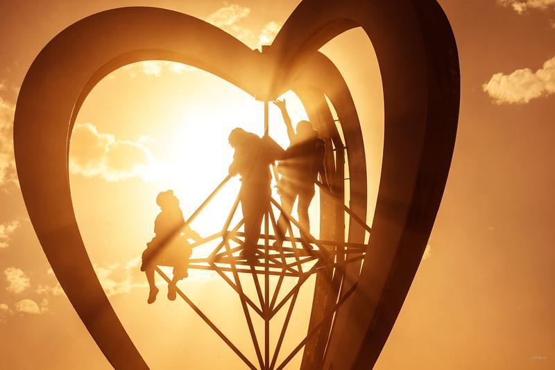 Light Filled Heart
