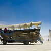 "Burning Man<br /> Jimmy the Covered Wagon (from The Wagonistas) & the Raygun Gothic Rocketship  <a href=""http://www.raygungothicrocket.com/"">http://www.raygungothicrocket.com/</a>"