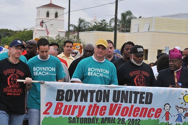 Bury the Violence 2012