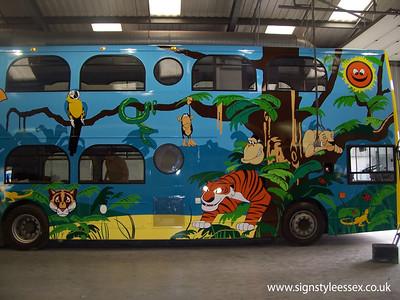 Jungle Bus Graphics