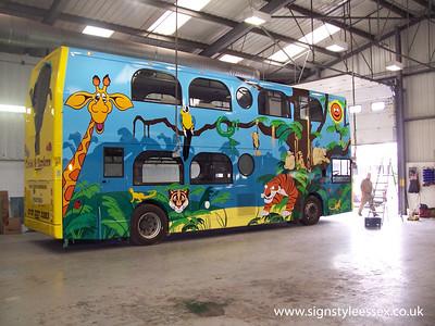 Jungle Bus at Lodge Coaches