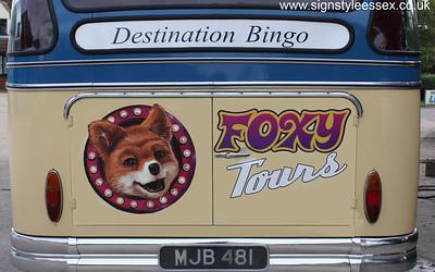 Foxy Bingo Bus