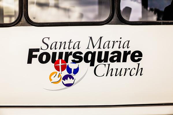 Santa Maria Foursquare POI