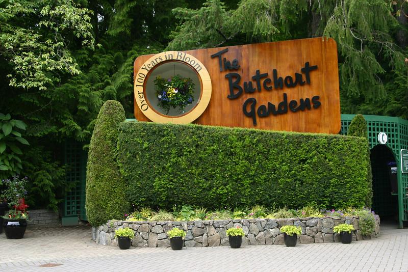 The Butchart Gardens, Victoria.