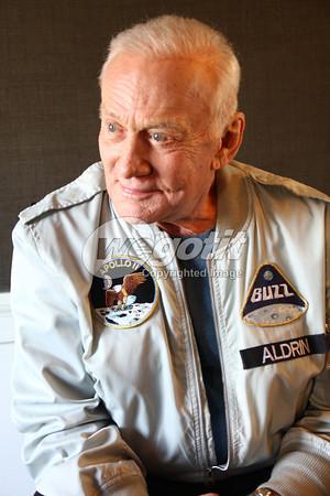 Buzz Aldrin 09-JAN-2013 @ Empire Hotel, New York, USA © Thomas Zeidler