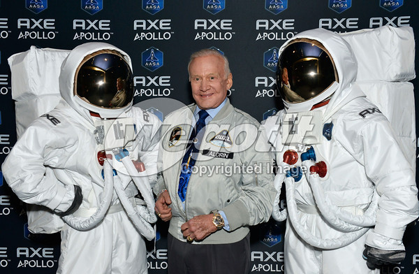AXE to Send 22 Guys to Space with New Apollo Campaign at American Museum of Natural History on January 9, 2013 in New York City.