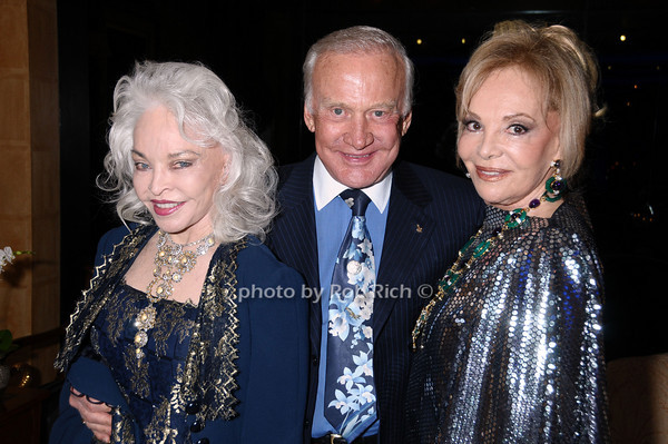 Lois Aldrin, Buzz Aldrin, Vivian Serota<br /> photo by Rob Rich © 2009 robwayne1@aol.com 516-676-3939