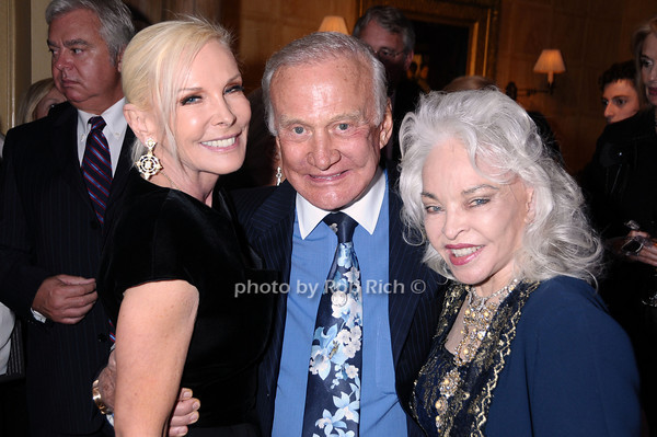 Michelle Herbert, Buzz Aldrin, Lois Aldrin<br /> photo by Rob Rich © 2009 robwayne1@aol.com 516-676-3939