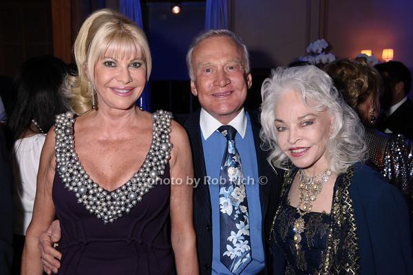 Ivana Trump, Buzz Aldrin, Lois Aldrin<br /> photo by Rob Rich © 2009 robwayne1@aol.com 516-676-3939
