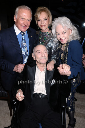 Buzz Aldrin, Vivian Serota, Lois Adrin, Nat Serota<br /> photo by Rob Rich © 2009 robwayne1@aol.com 516-676-3939