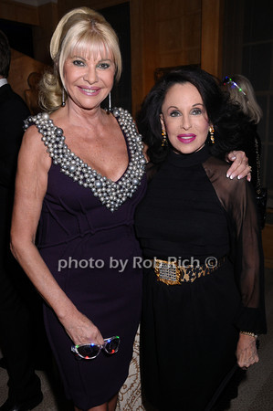 Ivana Trump, Nikki Haskell<br /> photo by Rob Rich © 2009 robwayne1@aol.com 516-676-3939