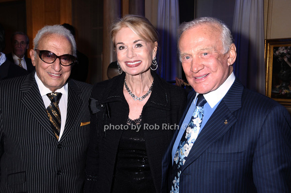 Jacques Khodari, Mara Khodari, Buzz Aldrin<br /> photo by Rob Rich © 2009 robwayne1@aol.com 516-676-3939