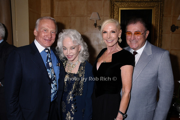 Buzz Aldrin, Lois Aldrin, Michelle Herbert,Larry Herbert<br /> photo by Rob Rich © 2009 robwayne1@aol.com 516-676-3939