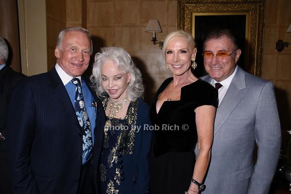 Buzz Aldrin, Lois Aldrin, Michelle Herbert,Larry Herbert<br /> photo by Rob Rich © 2009 robwayne1@aol.com 516-676-3939