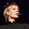 """Vendredi 20 avril 2012, Promasens, salle polyvalente: le spectacle intitulé """"L'coup du lapin"""" donné par la troupe du Cabaret d'Oron. Mme Butterfly."""